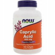 Заказать NOW Caprylic Acid 600 мг 100 капс