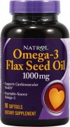 Заказать Natrol FlaxSeed Oil 1000 мг 90 жел